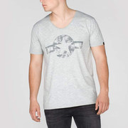 Alpha Industries USAF II Tee Grey - M