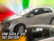 Deflektory VW GOLF VII 5D 2012R.->(+ZN)